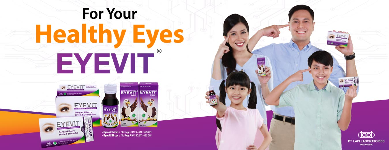 Protect eyes from the dangers of blue ray gadget with eye vitamin Eyevit